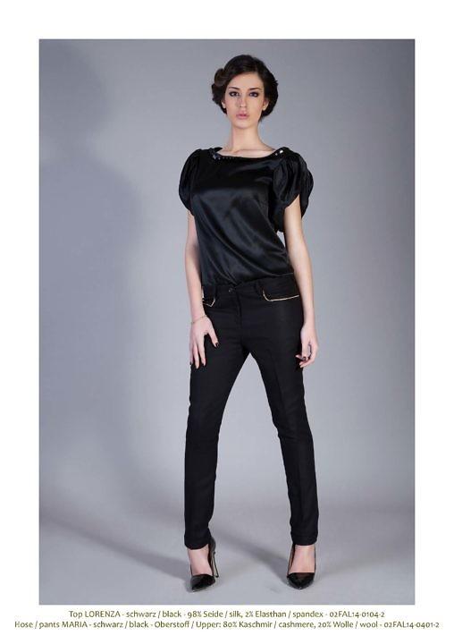 black cashmere pants | cigarette pants | Asita Sahabi