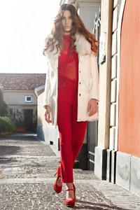white angora coat | designer winter coats | Asita Sahabi
