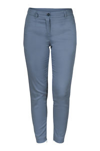 blue cotton trousers | casual chic | ASITA SAHABI