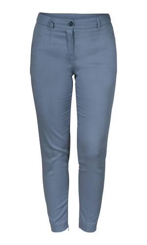 blue cotton trousers | casual chic | ASITA SAHABI
