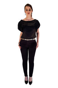 black cigarette trousers | designer clothes | ASITA SAHABI