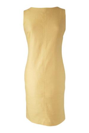yellow linen dress | yellow shift dress | ASITA SAHABI