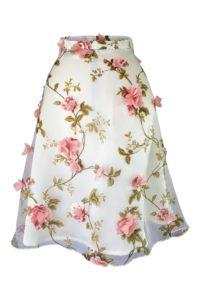 floral midi skirt | floral plate skirt | ASITA SAHABI
