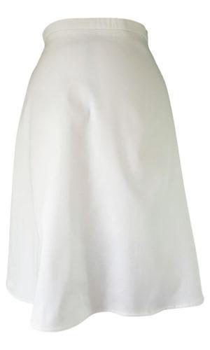 white cotton midi skirt | white plate skirt | ASITA SAHABI