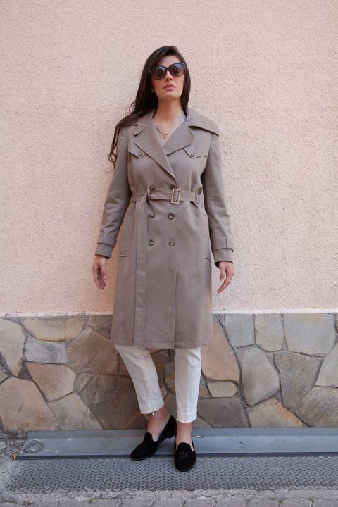 khaki Trenchcoat | spring coats | ASITA SAHABI