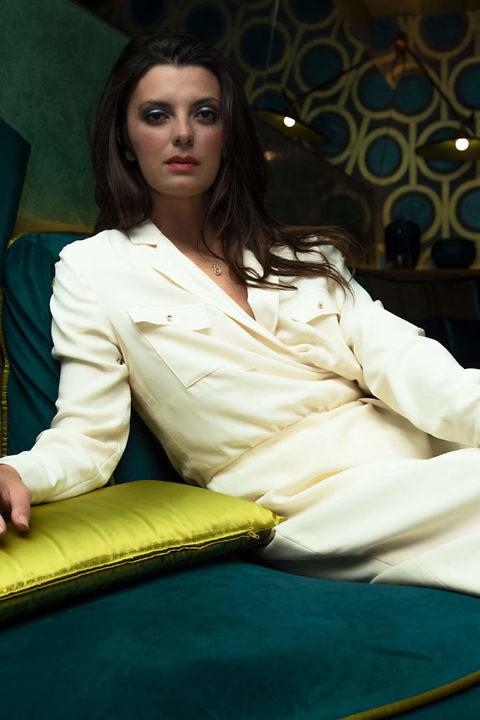 Safarikleid in Vanille | Wickelkleid | ASITA SAHABI