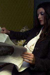 brauner Strickmantel | Herbstmäntel für Damen | ASITA SAHABI