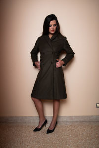 Zweireiher-Mantel aus Wolle | Damenbekleidung | ASITA SAHABI