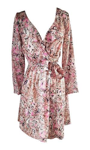 pink midi dress with ruches | rose silk dress | ASITA SAHABI