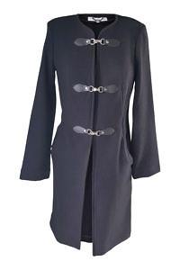 schwarzer Strickmantel | ASITA SAHABI | Winter Damenbekleidung