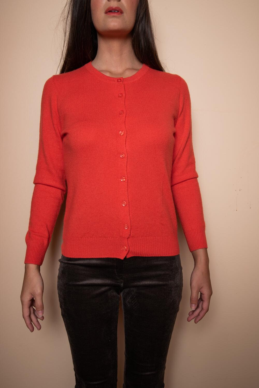 rusty cashmere cardigan | winter wear for women