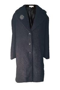 black alpaca coat | ASITA SAHABI