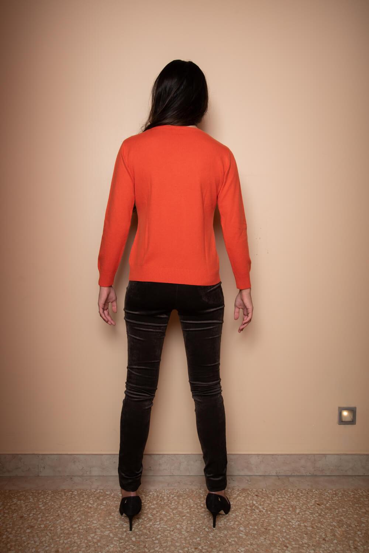 red cashmere jumper | luxury cashmere jumper