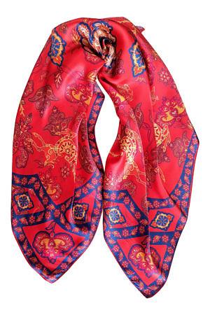 orange silk foulard with Bambi print