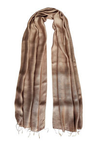 beige silk scarf | beige silk foulard