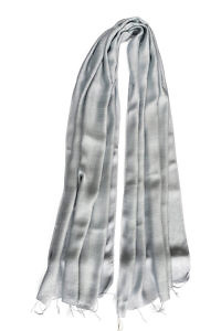 grey silk scarf | grey silk foulard
