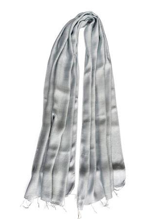 grey silk scarf | grey silk foulard