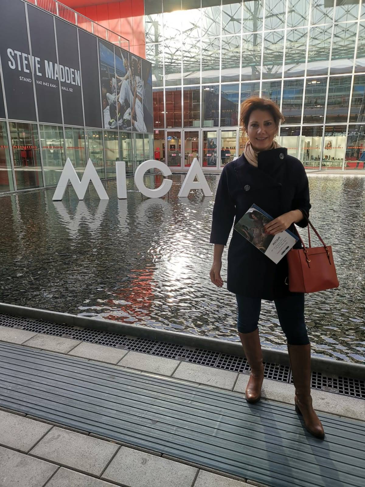 At the MICAM, Milan's famous shoe trade fair