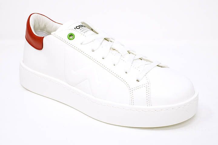 Womsh sneaker in red and white