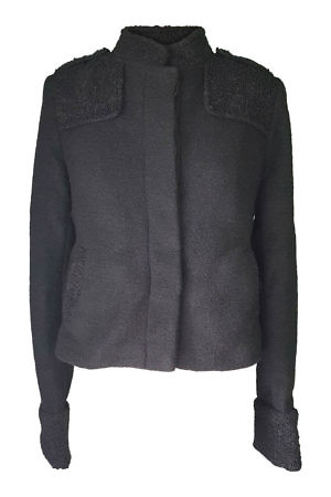 black wool jacket JENNA | wool jacket