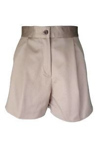 ASITA SAHABI khaki cotton shorts