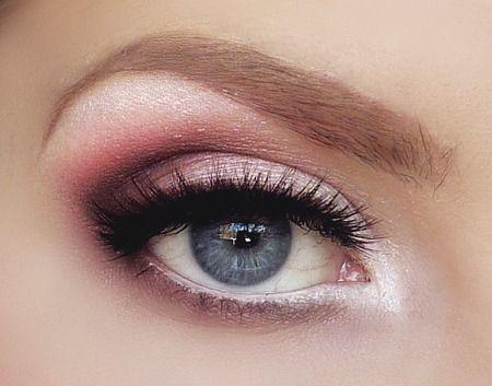 pink eye make up