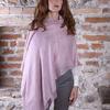 lilac pashmina MEL   100% cashmere
