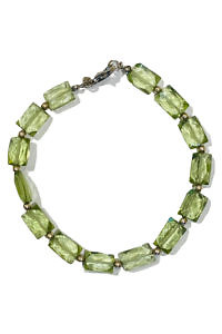 ASITA SAHABI Peridot Armband | hellgrünes Armband