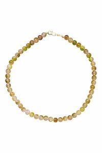 grüne Perlenkette aus Peridot | ASITA SAHABI
