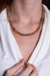 grünes Collier aus Peridot | ASITA SAHABI