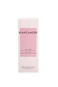 BIANCAMORE body lotion with Buffalo Milk and pomegranate oil
