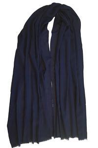 marine blue pashmina MEL | dark blue pashmina | 100% cashmere
