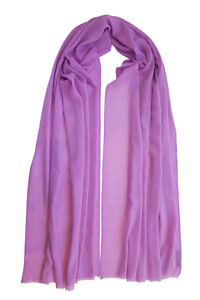 lilac pashmina MEL | 100% cashmere