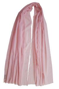 hellrosa Pashmina MEL | eleganter pastellrosa Cashmere-Schal