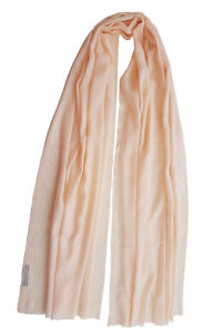 peach colored pashmina PAVIA | salmon rosé pashmina