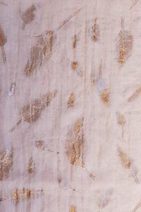 staubrosa Schal LIZ mit kupferfarbenen Blättern | 100% Viskose