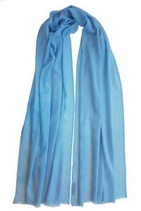 baby blue pashmina MEL | 100% cashmere