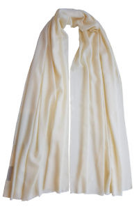 vanilla yellow pashmina MEL | 100% cashmere