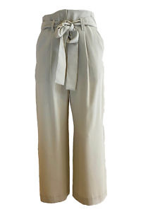 ASITA SAHABI beige culottes in tencel fabric MINA