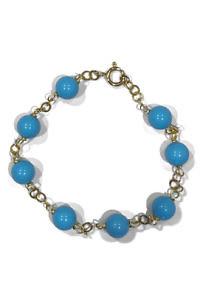 bracelet with turquoise stones | turquoise bracelet | ASITA SAHABI
