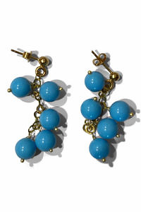earrings with turquoise stones | turquoise earrings | ASITA SAHABI