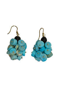 earrings with turquoise ELBA