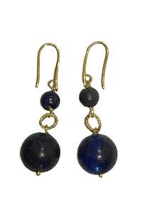 earrings with earrings with Lapislazuli LALA
